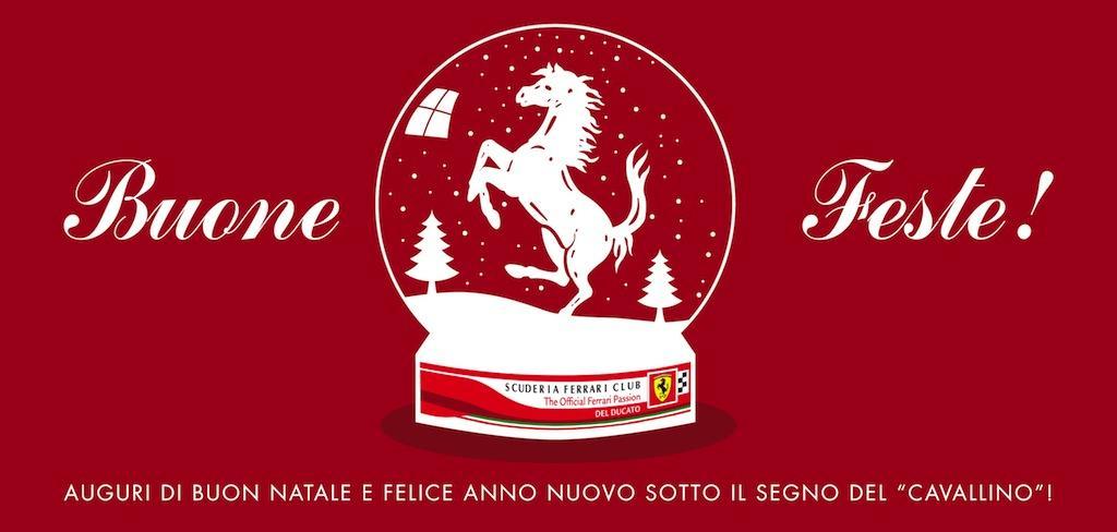 Auguri Di Buon Natale Ufficiali.Scuderia Ferrari Club Parma La Scuderia Ferrari Invia A Tutti Noi